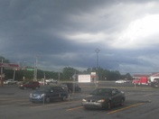 Thunderstorm coming in.