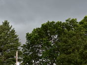 Pre storm clouds