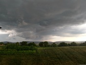 6/19 storm from lititz