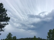 Ruidoso cloud formation