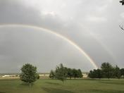 Double rainbow in Raymore