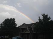 Double rainbow in Belton Missouri