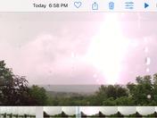 Frisky Hill Lightning Show