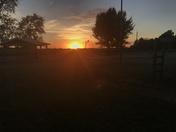 Pershing sunset