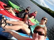 Enjoying Newfound Lake