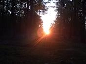 Summer Solstice sunrise at America's Stonehenge