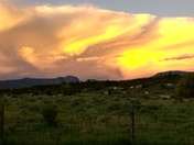 Sunset in Los ojos New Mexico