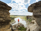 Through the hoodoos