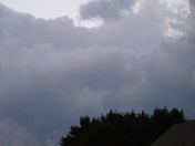 Storms moving over Ellsworth Last night