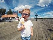 Ice Cream at the Lake