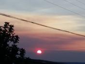 sun rise in San Rafael nm