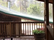 Surprise Hailstorm near Cloudcroft 6/23/17 aft