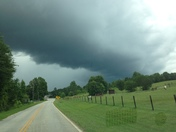 Sky conditions near Greenville Pickens Speedway