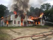 Training burn in Ashland, NH