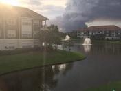 Giant smoke cloud