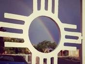 Rainbow and zia