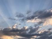 Beautiful Guthrie Oklahoma sunrise