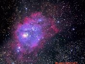 New Picture Of The M8, Lagoon Nebula.