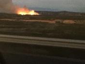 Fire South of Socorro NM