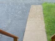 Ticonderoga Hail Storm