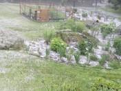 Not snow, hail