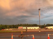Always good lighting storms at New Hampshire Motor Speedway