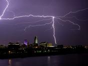 Lightning over Omaha