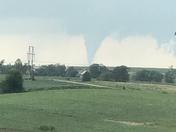 Tornado east of Sidney ia