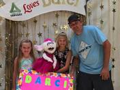 Harlee and JJ with Darci Lynne Farmer