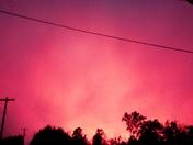 Red sunset tonight june 28