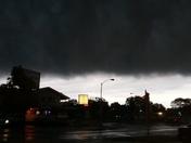 Sky before the rain