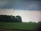 Funnel cloud north of Hwy 20 at Blairsburg exit at about 5:30 pm