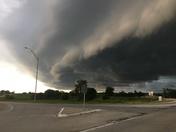 Storm near Manilla Iowa