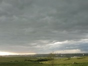 Time lapse of Shelf cloud over Harlan iowa.