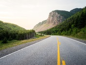 Cabot Trail, Cape Breton Highlands, Nova Scotia