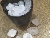 left over hail in Papillion
