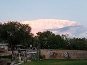 Flying saucer cloud