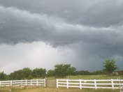 Storm rolling in