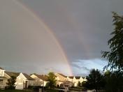 Rainbow over Sarpy County