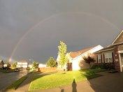Rainbow in southwest omaha
