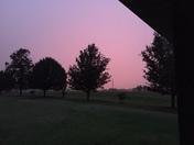 West sky from Stuart/Haywood area