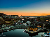 Sunset over Quidi Vidi