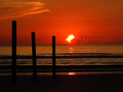 Sunrise at Ponce Inlet