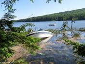 Tornado Damage on Moose Pond in Denmark, Maine