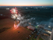 Fireworks at the Krall Farm in Buffalo Springs!