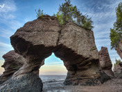 Sunset at the Hopewell Rocks