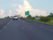 Storm cloud I-29 South bound