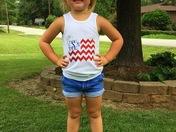 """""""Happy Birthday America!!"""" -LillyAnn Smith"""