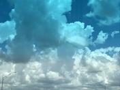 Tiburon storm clouds