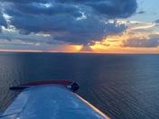 Evening Sunset Flight